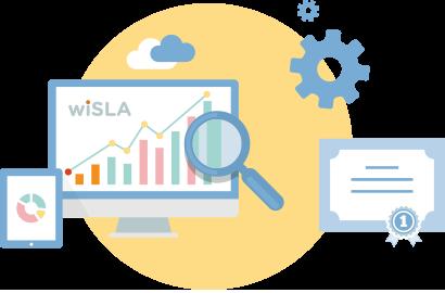 Точность измерений с wiSLA